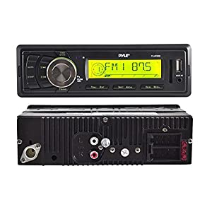 Pyle PLMR86B AM/FM-MPX Electronic Tunning Radio by Pyle
