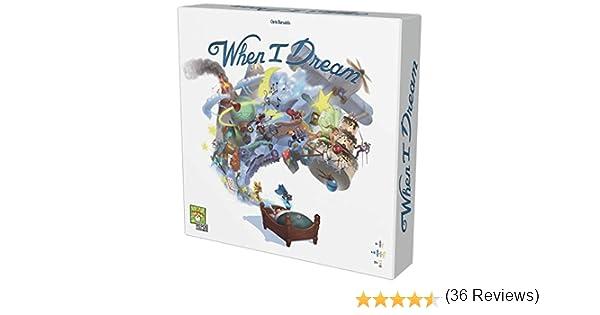 Asmodee-When I Dream-Juego de Tablero (Repos Production RPWD0001): Amazon.es: Juguetes y juegos