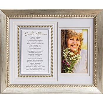 In Loving Memory Sentiment Silver Frame