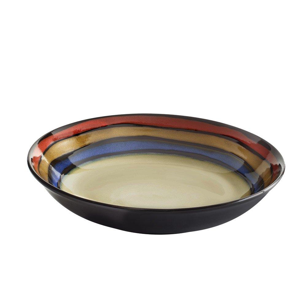 Pfaltzgraff Galaxy Red Oversized Pasta Serve Bowl, 2.5-Quart