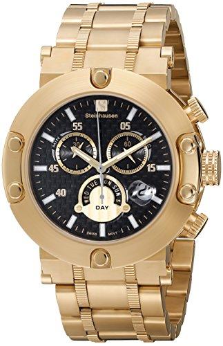 Steinhausen SW578G Monte Carlo Redux Swiss Chronograph Watch Case