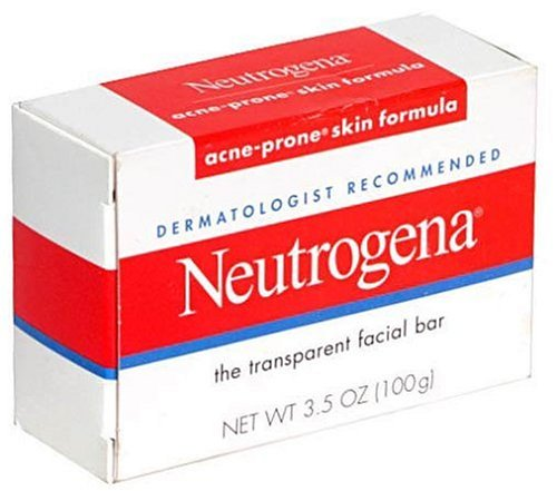 Neutrogena Transparent Facial Bars, Acne-Prone Skin Formula, 3.5 Ounc Neutrogena Acne Soap