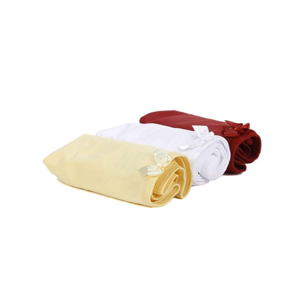 ec488c90b Kit com 03 Calcinhas Femininas Vermelho branco amarelo  Amazon.com.br   Amazon Moda