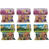 Encore Disney Princess Tinkerbell Silly Bandz (6pk) 184 Bands Fairy Cinderella Snow White