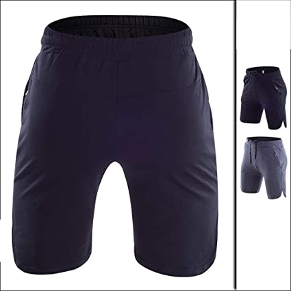 WANGYANNING Shorts de Yoga para Hombres, Pantalones Cortos ...