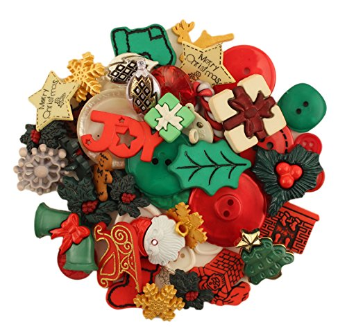 Buttons Galore 50-Value Pack Christmas (Christmas Buttons)