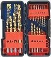 Bosch TI18 18-Piece Titanium Twist Drill Bit Assortment with Plastic Case