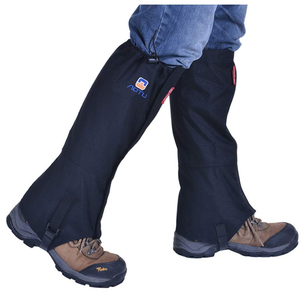 LYMEEZ Untreated 3D Mesh Gaiters. Bring Your Own Spray.