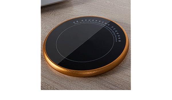 XRXY Touch Coaster eléctrico ultrafino / Calentador de té de temperatura constante creativa Calentador / Base de aislante de bebida de leche conveniente (3 ...