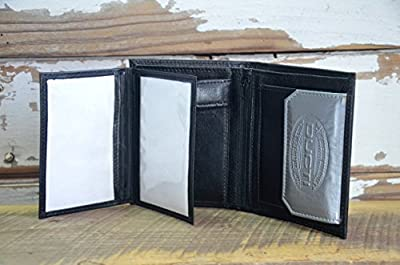 Ducti UnSlim Leather Wallet - Black