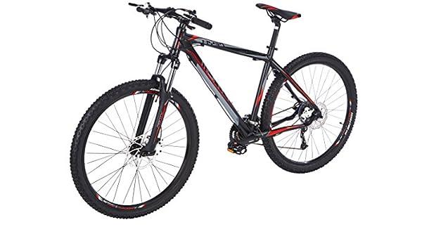 Monty KY37 Bicicleta de Montaña, Unisex Adulto, Negro, M: Amazon ...