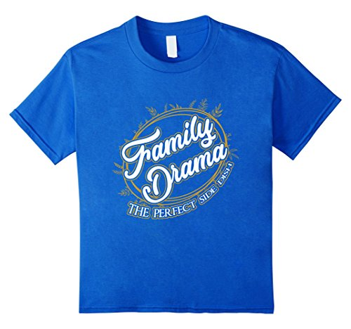 Funny Thanksgiving T-shirt Family Drama Perfect Side Dish