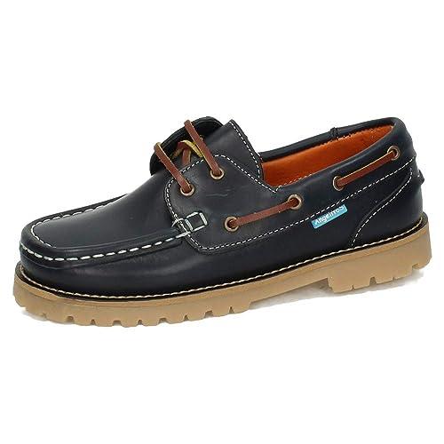 ANGELITOS 805 Zapatos NAÚTICOS NIÑO Zapatos MOCASÍN: Amazon.es: Zapatos y complementos