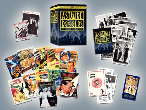 Astaire & Rogers Ultimate Collector's Edition (Flying Down to Rio / The Gay Divorcee / Roberta / Top Hat / Follow the Fleet / Swing Time / Shall We Dance / Carefree / The Story of Vernon and Irene Castle / The Barkleys of Broadway)