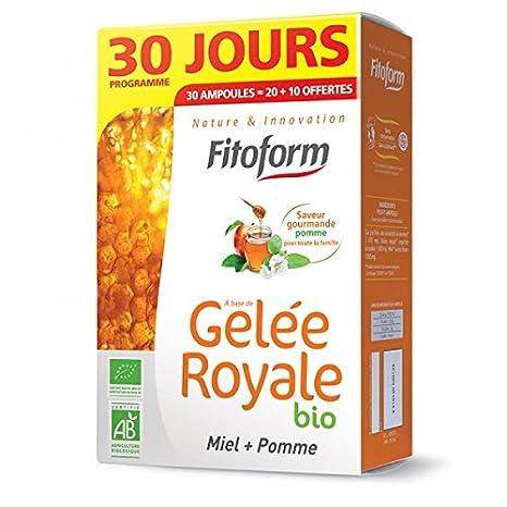 Jalea Real Bio miel manzana 10 bombillas offertes - 30 bombillas: Amazon.es: Salud y cuidado personal