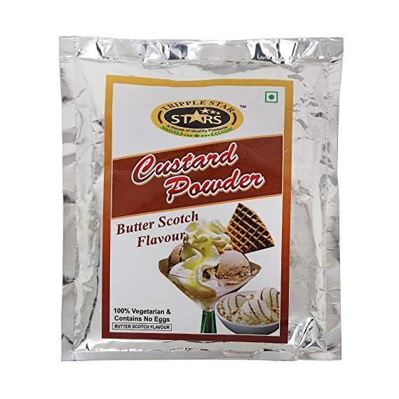 Tripple Star Butterscotch Custard Powder-200 Gram