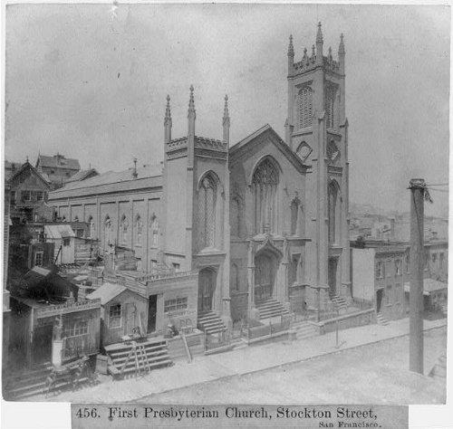 Photo: First Presbyterian Church,Stockton Street,San - Francisco Stockton San Ca To Ca