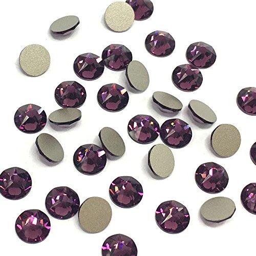 Amethyst 144 Pcs Swarovski Crystal - 9