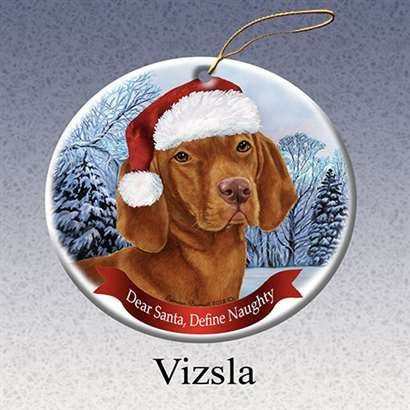 Vizsla Dog Breed Ornament