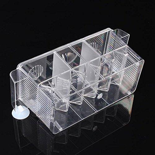 4 Grides Breeding Incubator Isolation Box Fish Tank Aquarium Hatching Transparent Boxes Multifunctional Acrylic Fish Tank Holder by LEO_Pet supplies (Image #8)
