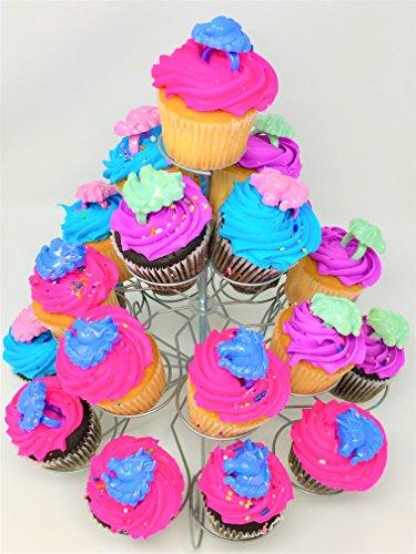 141 piece – Cupcake – Baking – Set – Fun Pack - Cupcake Stand – Cupcake Toppers – Cupcake Liners – Decorating Kit – Birthday Girl – Birthday Boy - ()