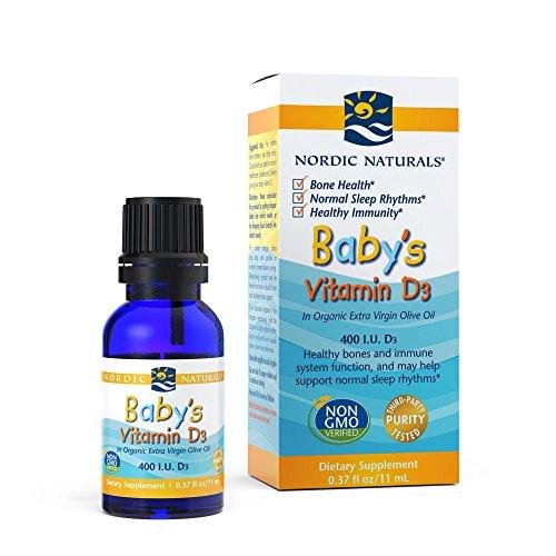 Nordic Naturals Babys Vitamin Cholecalciferol product image