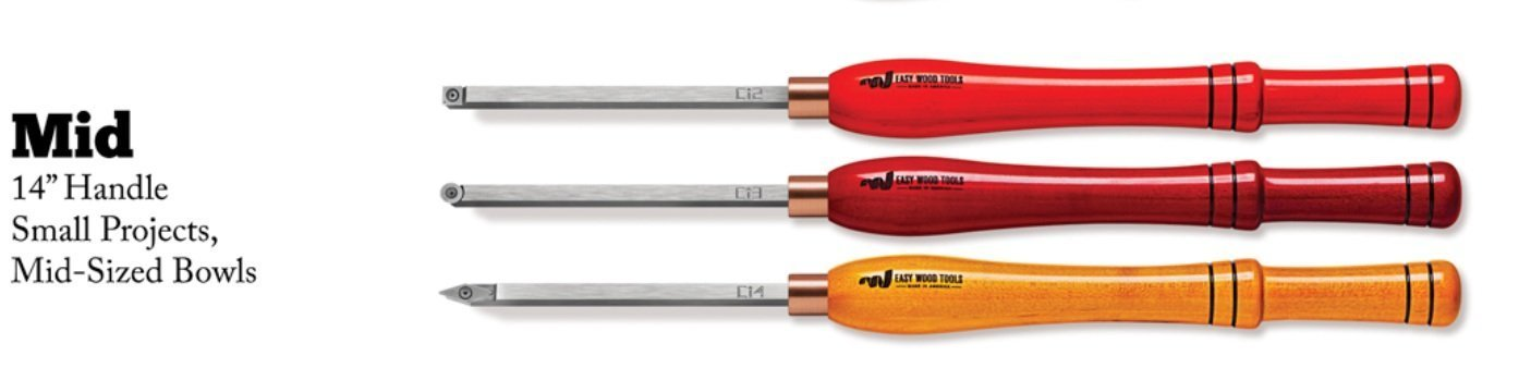 Easy Wood Tools COMBO= Mid-Size Easy Rougher+Finisher+Detailer. Items 2200+6300+7300. Wood-Turning