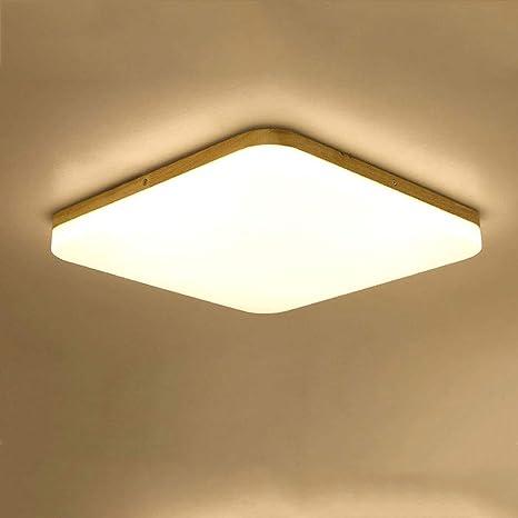 Wandun Plafones LED, Cuadrado Lámpara de Techo Plafón LED ...