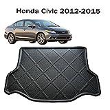 Car Boot liner Cargo Mat Tray Trunk Floor Protector Mat Carpet Custom Fit Honda Civic 2012 2013 2014 2015