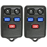 Keyless2Go Keyless Entry Remote Car Key Fob Replacement for Vehicles That Use CWTWB1U551, Self-programming - 2 PACK