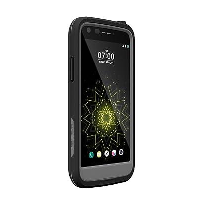 Lifeproof FRĒ SERIES Waterproof Case for LG G5 - Retail Packaging - BLACK