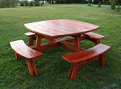 Finish Picnic Table - Pine Picnic Table
