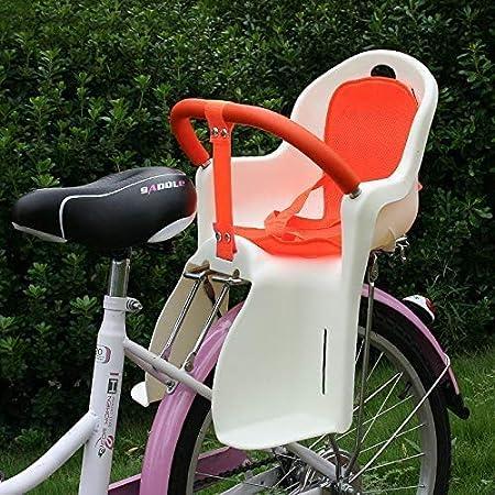 DPPD Portabebés/Asiento para Bicicleta montado en Bicicleta, Cuenta con arnés de 3 Puntos, reposabrazos Desmontable, se Monta fácilmente en la Rueda Trasera de la Bicicleta, para niños, niños p: Amazon.es: Hogar
