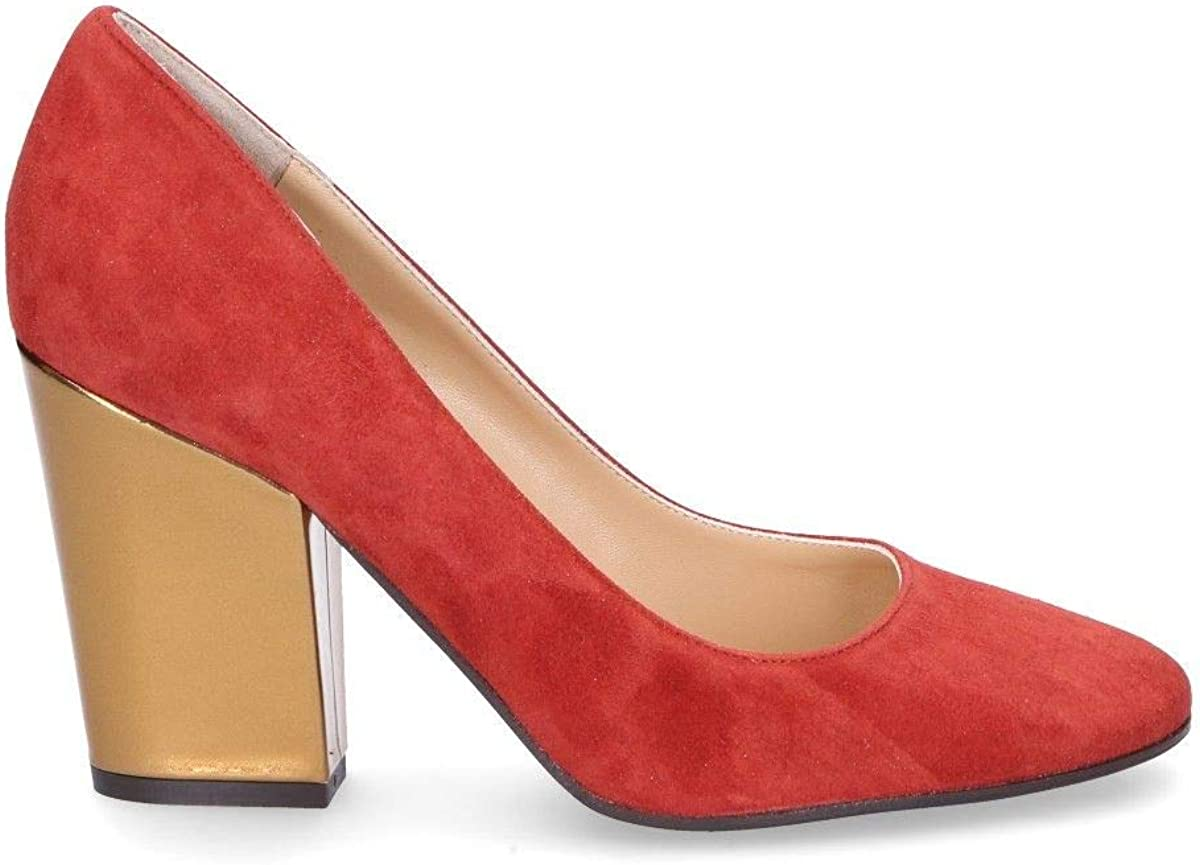 The Seller Luxury Fashion Womens S5778BRED Red Pumps Spring Summer 20