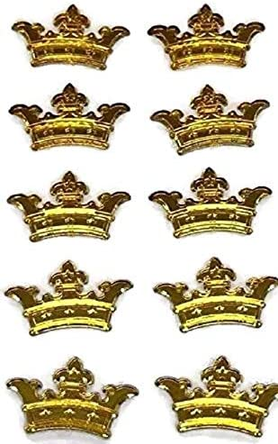 Jolee/'s Princess Crown TIARA 3d Scrapbook Stickers