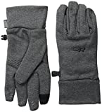 Outdoor Research Women's PL400 Sensor Gloves, Charcoal Heather, Small