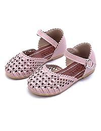 Tenworld Toddler Girls Mary Jane Flat, Baby Girl's Summer Beach Sandals