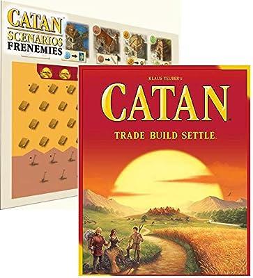 Catan 5ª Edición con Frenemies Scenario Expansión Bundle: Amazon.es: Juguetes y juegos