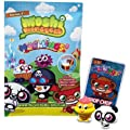 Moshi Monsters Moshlings Toys Mini Figure 2pack 2 Random Figures Virtual Prize Code by Spin Master