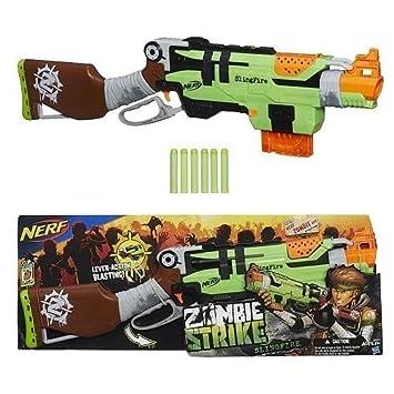 item 3 Nerf Gun Zombie Strike Slingfire with 2x 6 & 2x 25 Shot Clips Bundle  -Nerf Gun Zombie Strike Slingfire with 2x 6 & 2x 25 Shot Clips Bundle