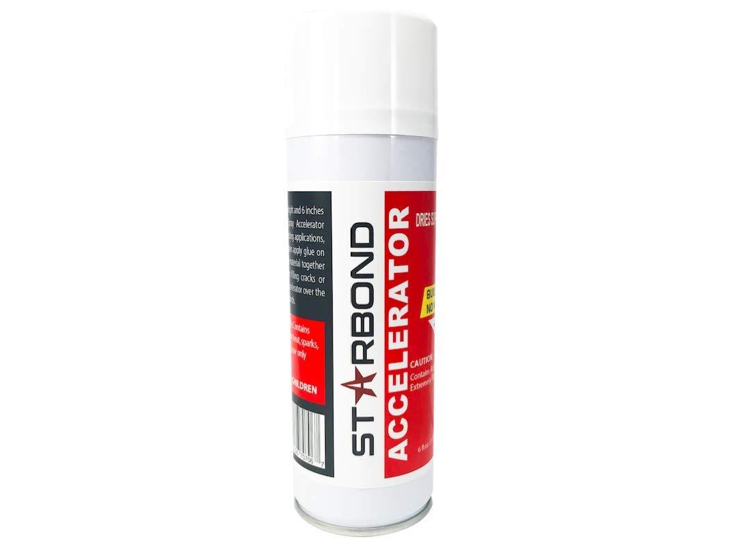Starbond Instant Set ACCELERATOR (Activator) for CA Super Glue, 6 oz. Aerosol by Starbond (Image #2)