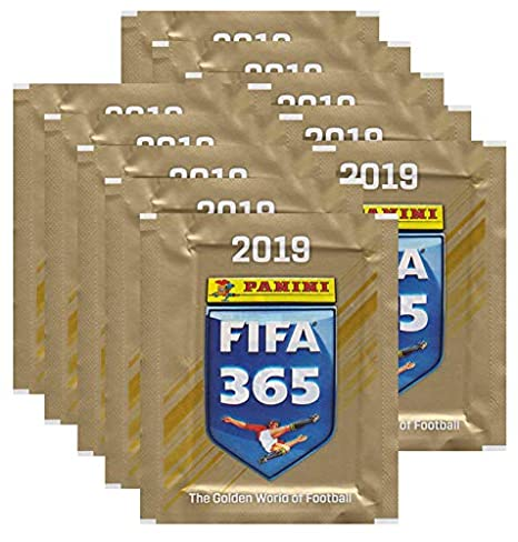 Sammelsticker 10 Tüten Panini FIFA 365-2018//2019 Deutsch
