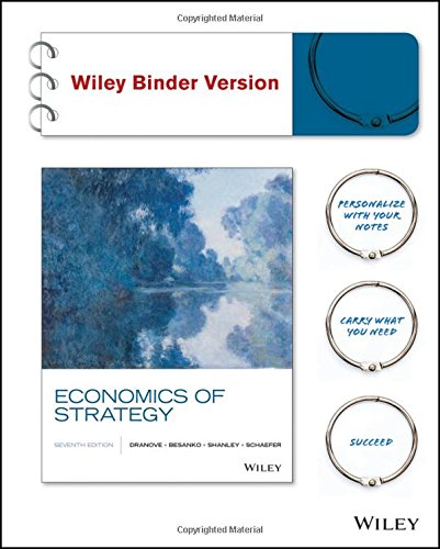 Download PDF Books Economics Of Strategy Binder Ready