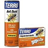 TERRO T600-300 Liquid Ant Bait and Ant Dust