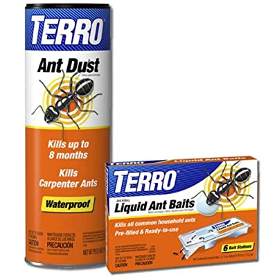 TERRO T600-300 Liquid Ant Bait and Ant Dust