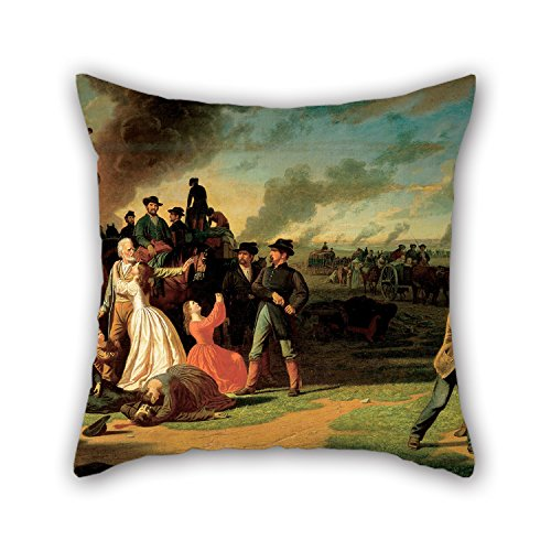 [Loveloveu The Oil Painting George Caleb Bingham - Order No. 11 Throw Pillow Case Of ,20 X 20 Inches / 50 By 50 Cm Decoration,gift For Kids Boys,car Seat,lover,wedding,christmas,bf (each] (Bull Rider Costume Toddler)