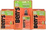 Ben's 30% Deet Mosquito Tick Insect & Bug Repellent Spray Pump & Field Wipes