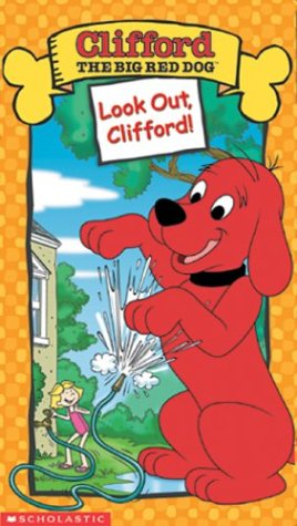 Clifford-The Big Red Dog: Look Out Clifford! [VHS]