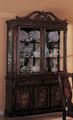 Old Elegance Buffet/Hutch by Coaster Furniture