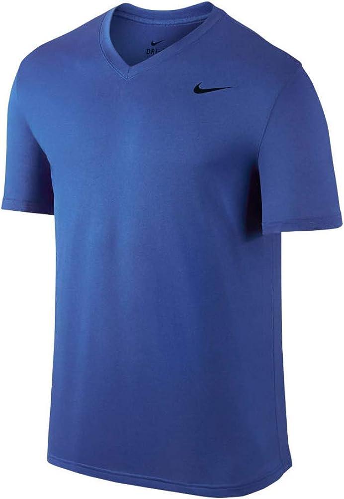 Nike Mens Legend 2.0 Short Sleeve V-Neck Tee